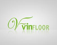 Vinfloor logo tasarımı