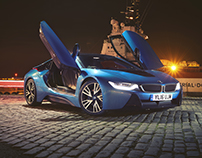 BMW i8 Night Shots