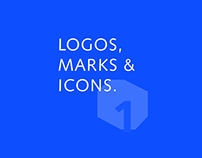 Short collection logos, marks & icons #1