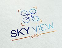 Sky View UAS Logo