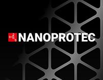 Nanoprotec [logo, branding, cataloge]