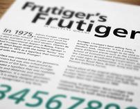 FRUTIGER'S FRUTIGER