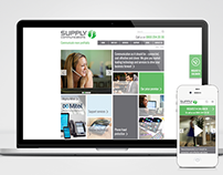 The Supply Group. Website design.