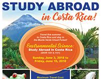 Galveston College Study Abroad Poster