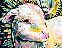 PASSOVER LAMB | Editorial Illustration