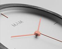 3D Video Rendering of MAM Originals Wooden Watch