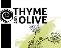 Thyme & Olive (raw honey)