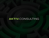 AKTIV.CONSULTING Corporate identity