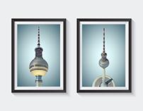 Berliner Fernsehturm - 3D Model