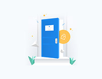 Illustrations for Opendoor
