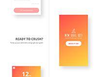Milestones (Mobile UX/UI)
