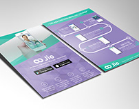 Jio Health Flyers and Standee