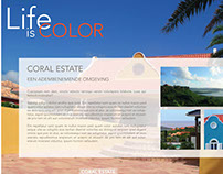 Coral Estate website design
