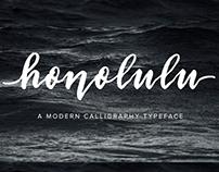 Honolulu | Script Font