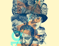 Top 10 Jazz Pianists editorial illustrations