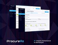 🇦🇿🔷 ProcureAz 🔷 UX/UI