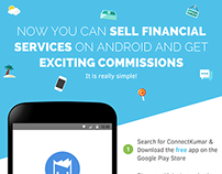 ConnectKumar - Sell Financial Services on Android