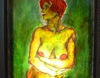 Light (Phos) - part. 2/ Six women's figures