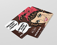 Rush salon flyers