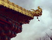 香格里拉达隆噶举寺院,清净实修的地方
