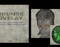 Grunge overlay Mockup - Download