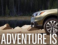 """Adventure"" Larry H. Miller Boise Subaru - Valet Stand"