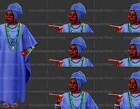 Voodoo Woman (Set of Emotions)