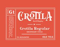 Crotila Typeface
