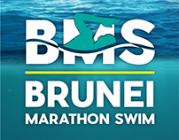 Marketing Collaterals: Brunei Marathon Swim 2018