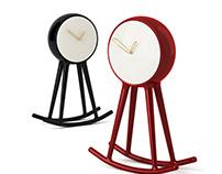 3d model: Infinity Clock by Bosa Ceramiche