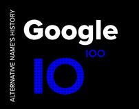 Google's logo alternative: if googol.com was available?