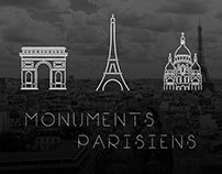 Monuments Parisiens // Vector //