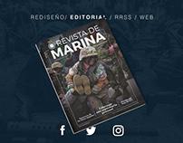 Revista de Marina - Rediseño