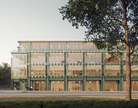 A new university building in Warsaw