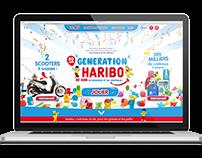 50th Birthday Haribo // Minisite