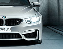BMW M3 Berlina · Photography + Retouch + Mattepainting