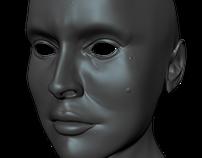 WIP - Natalie Portman 3D Model