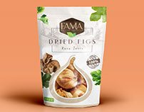 Fama Dried Figs Packaging Design