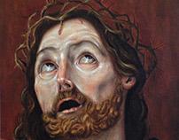 Cristo con corona de espinas