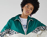 Animal geo print for Bershka