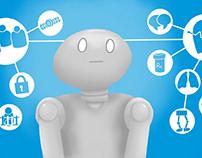 Artificial Intelligence Editorial Illustration