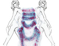 """CFDA, Semifinalist from F.I.T. - """"Mitosis"""""""