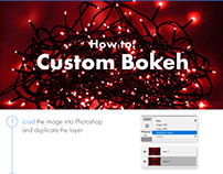 Photoshop Protip: Bokeh with custom shapes