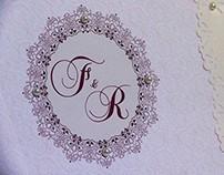 Convite de Casamento Fábio & Rayani
