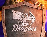 Shopping Santa Úrsula - Cartaz Dragões Exposição