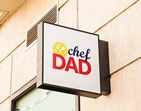 chef DAD Logo Design