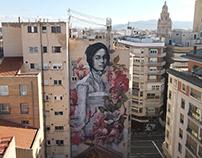 """""""La mujer de las flores"""" Murcia, Spain."""