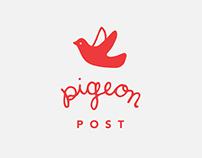 Pigeon Post Logo Design