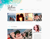 Julia Charan | Blog Layout