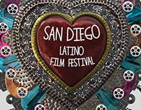 San Diego Latino Film Festival / diseño de cartel